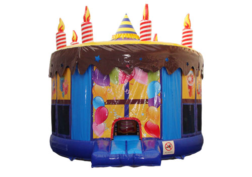 Colorful-Birthday-Cake-Inflatable-Bouncer-QBO-3029-a