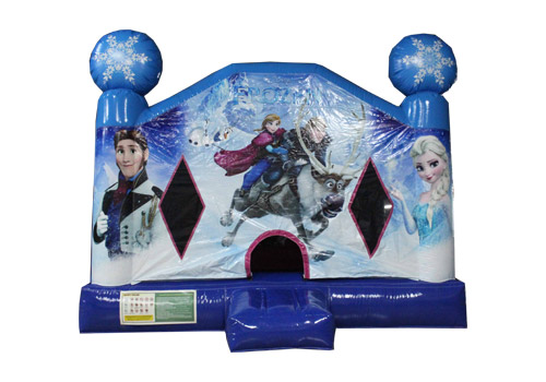 Frozen_Inflatable_Bounce_House_QBO-3575