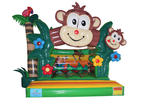 Inflatable-Monkey-N-Forest-Jumper-QBO-3553