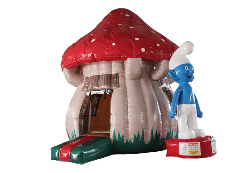 Smurfs-Inflatable-Bouncer-House-QTU-3559