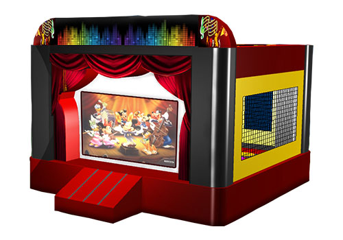 Bouncy-Castle-with-Movie-Screen-QBO-3037