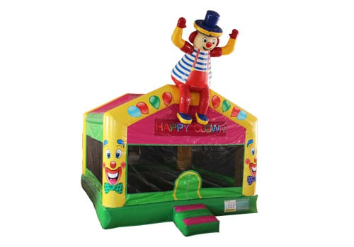 Clown-Indoor-Bounce-House-For-Kids-QBO-3540