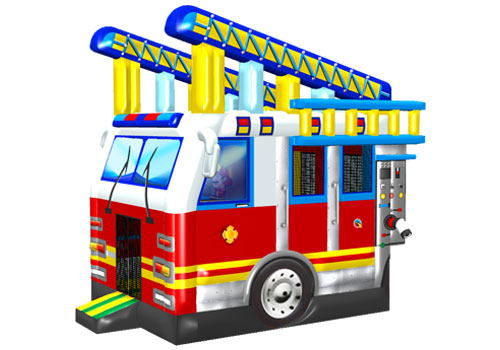Fire-Truck-Inflatable-Bouncer-QBO-3123
