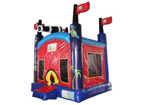 Inflatable-Pirate-bouncy-castle-QBO-3078